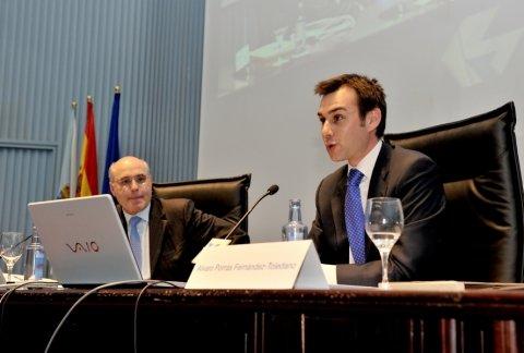 Imaxes Manuel Areán Lalín, catedrático de Dereito Mercantil na Universidade da Coruña - Curso de Marcas